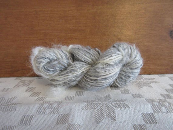 Hey Ewe - Hand spun mini skein   *MS1035