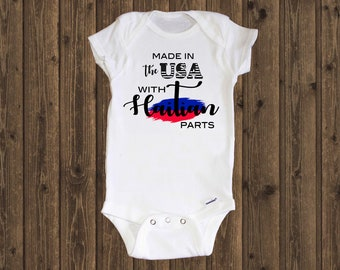 Baby Boys Puerto Rico Short Sleeve Climbing Clothes Creeper Jumpsuits Suit 6-24 Months