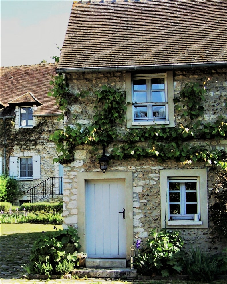 France Photos French Country House In Giverny France French Etsy