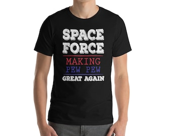 United States Space Force Alien Liaison Officer Gift Black T Shirt 100/% Cotton