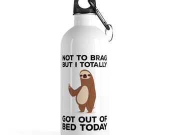397832e7a1 Sloth Tumbler| Funny Sloth | Sloth Gift | Sloth Lover |Cute Sloth |Sloth  Life |Girlfriend Gift |Sleeping Sloth |Stainless Steel Water Bottle