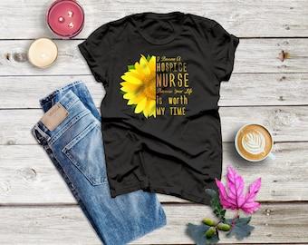 Hospice Nurse Shirt, Registered Nurse ,Thank You, Practitioner ,Caregiver ,Hospice Volunteer  ,Palliative ,Oncology ,Unisex Short Sleeve Tee