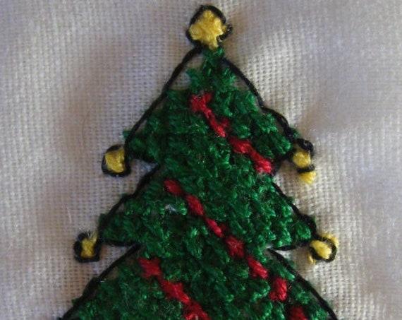 Cross stitch pattern - Christmas Tree cross stitch pattern - instant digital downloadable cross stitch pattern - pdf cross stitch pattern