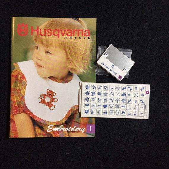 Husqvarna Viking Monograms Cassette Overlay 13 for Model #1 1250  Orchedia