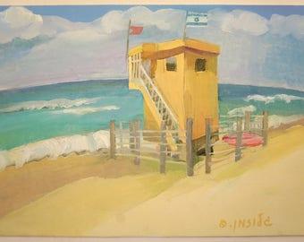 Lifeguard and the Sea