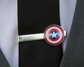 Superhero Tie Clips, Superhero Cufflinks, Superhero Tie Bars, Superhero Cuff Links, Comic Book Tie Clips, Comic Tie Clips