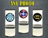 Superhero Money Clip, Comic Book Money Clip, Comic Money Clip