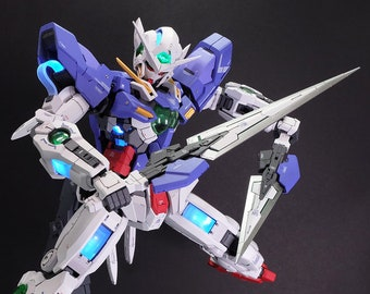Painted Bandai PG 1/60 GN-001 Gundam Exia (Lighting Mode)