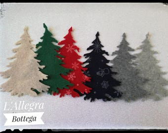 10 Applications Christmas tree/fir for your decorations