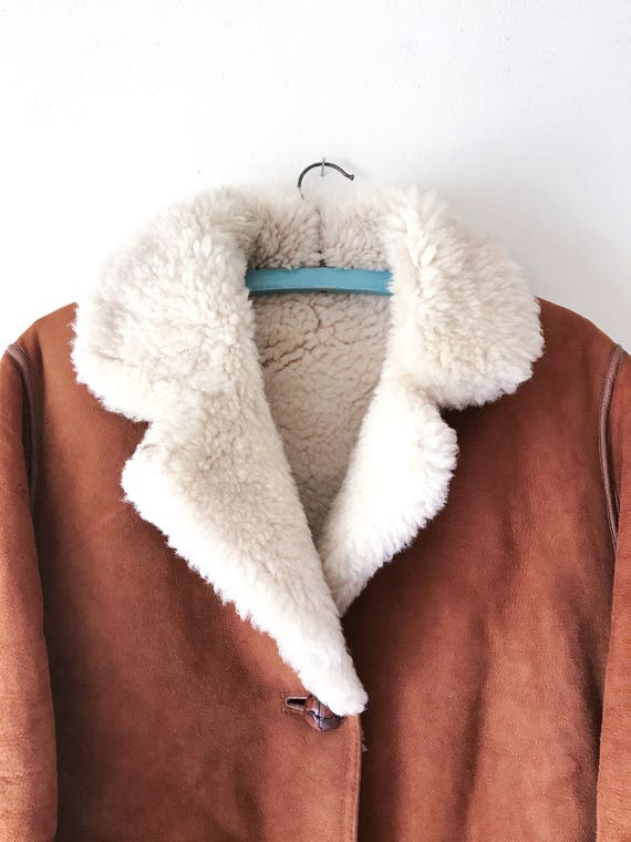Liberty of London Sheepskin Coat