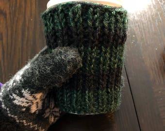 Crochet Coffee Cozy, Eco Friendly, Cup Cozy, Cozies