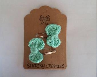 Crochet Hair Accessory Metal hair Clip 3 cm
