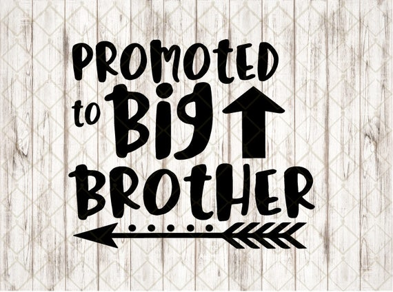 Download Big Brother SVG Cut File Promoted To Big Brother Cutting ...