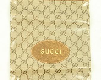0a6ddabf87d RARE Vtg GUCCI Italy Signature Logo Monogram Canvas Vinyl Leather Handbag  Tote Purse