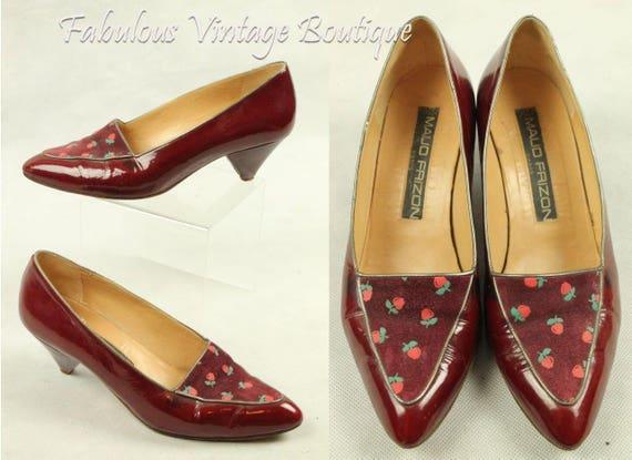 US 6 Maud Frizon Lace up Shoes Vintage 1970s