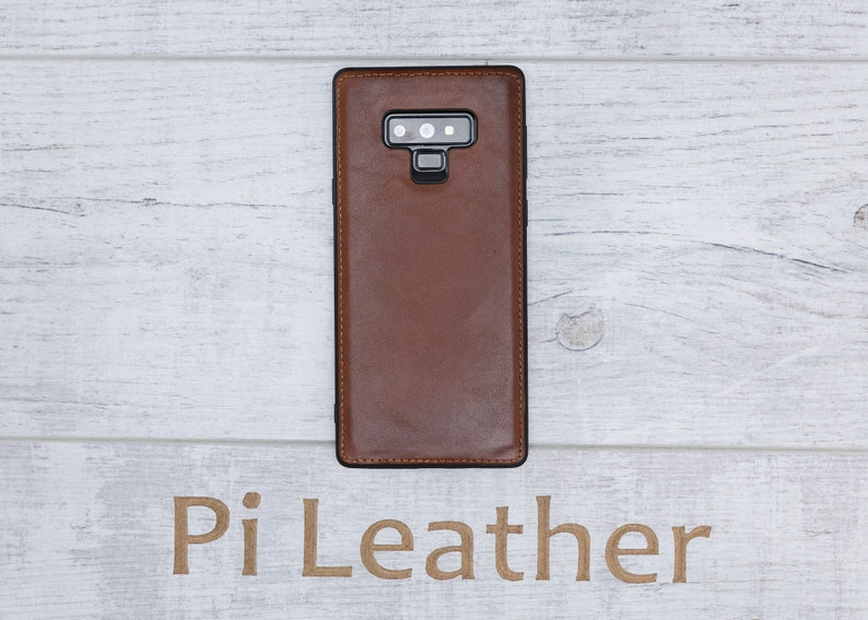 S9+ Note 9 Genuine Leather Magnetic Detachable Wallet Case Personalized Laser Engraved and Letter Printing Samsung Galaxy Note 9 Note 8