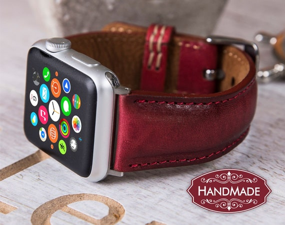 Leather Apple Watch Band 38mm 42mm women leather iwatch
