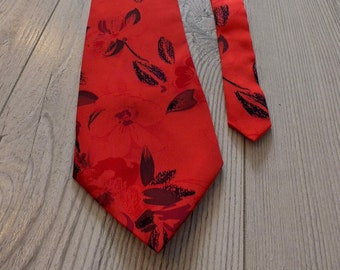 8c65ce8d3716 Vintage 80s Tie, Vintage Men's Necktie, Retro Tie, Chic Tie