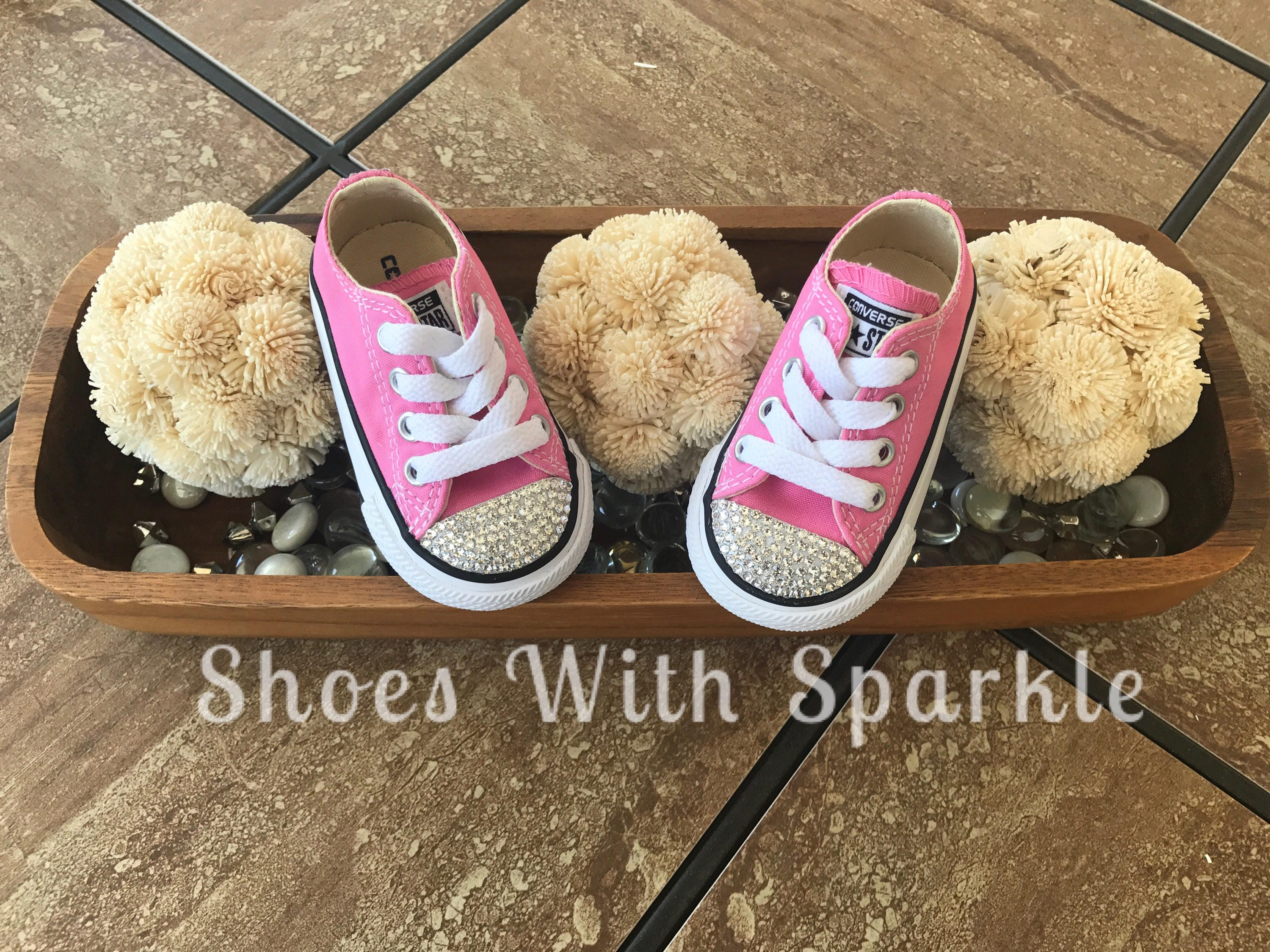 Converse® Toddler All star Shoes Custom Bling with Swarovski®  438ef13dab