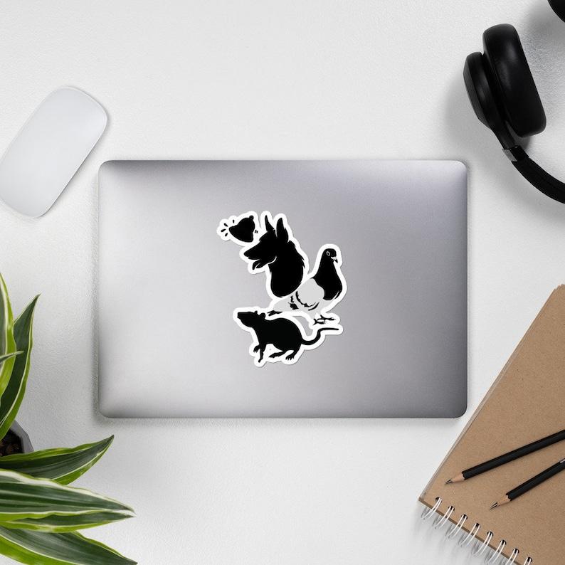 Behaviorism Pavlov/'s Dog Skinner/'s Pigeon Watson/'s Rat Bubble-free stickers