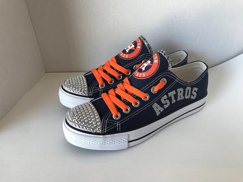 Houston astros women s Astros Bling tennis shoes  19c5c7d352