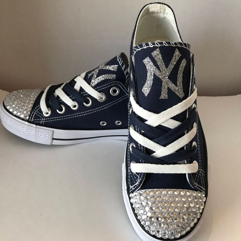 New York Yankees Handmade Converse, New York Yankees