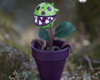 Plantus canivorus - carnivore plant type Super Mario - Piranha