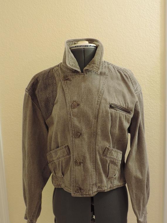 Vintage 1980's 1990's LizWear Country brown acid w