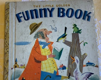 The Little Golden Funny Book