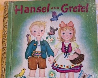 Hansel and Gretel Little Golden Book
