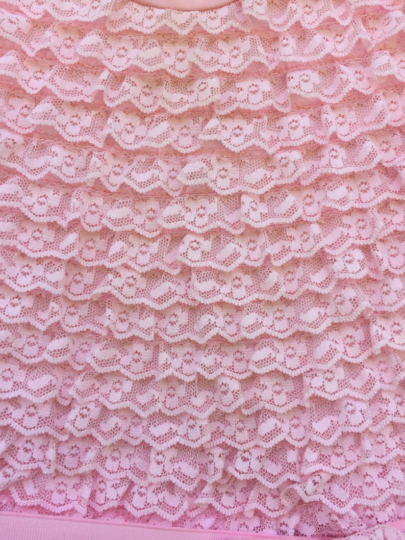 Layers and Layers of Pink Lace Little Girl/'s Party Dress