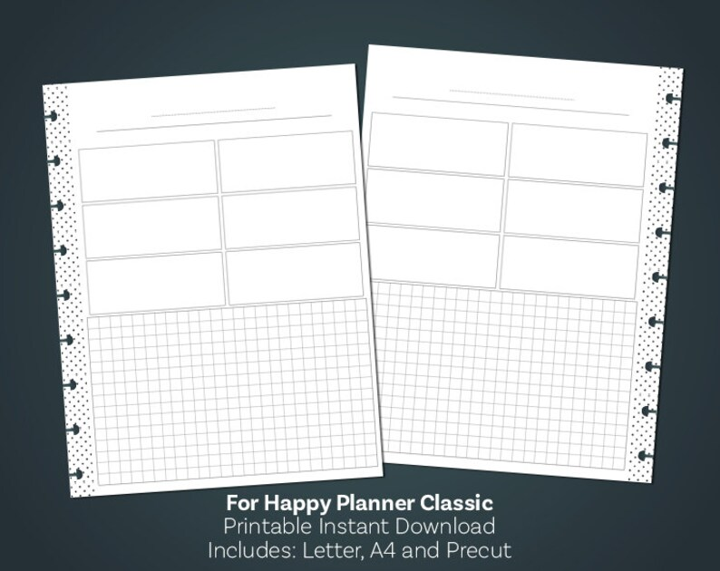 picture relating to Note Paper Template referred to as Be aware Paper Printable, Notes Template, Planner Notes, Grid Paper Inserts, Clic Pleased Planner, Joyful Planner Inserts, Very low