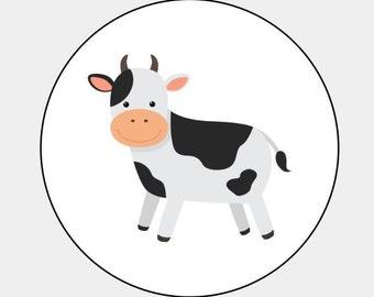 Farm animal stickers   Etsy