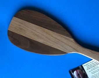 Exotic Combination Wlanut and Red Oak OTK Spanking Paddle
