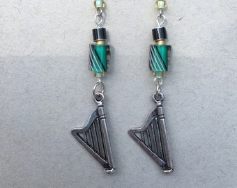 Classical Harp Earrings
