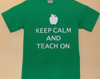c545fa398 90s TEACHER T-Shirt size adult SMALL 100% pre shrunk Cotton fun education  old school party Vintage tee