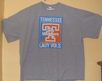new product 883ab 80a98 Vintage Tennessee Vols Lady volunteers Size Adult 5XL University TU college  football USA