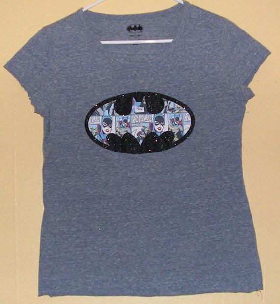 341dde01d353f 90s BATGIRL T-Shirt Womens size Medium Regular fit D C official product  batman comic con collection Vintage tee