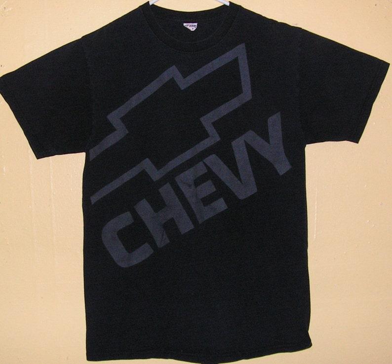 Chevy T Shirts >> 90s Chevy T Shirt Chevrolet Size Medium 100 Cotton Chevy Truck Classic Hotrod Rat Rod 1950s Trucker Custom Vintage Tee