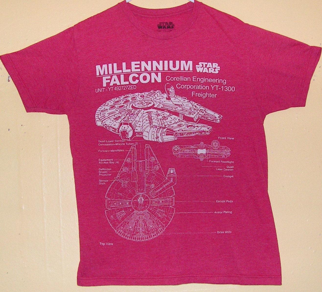 90s Star Wars Millennium Falcon Darth Vader Wookiee Storm Etsy