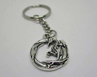 Antique Dragon Keychain