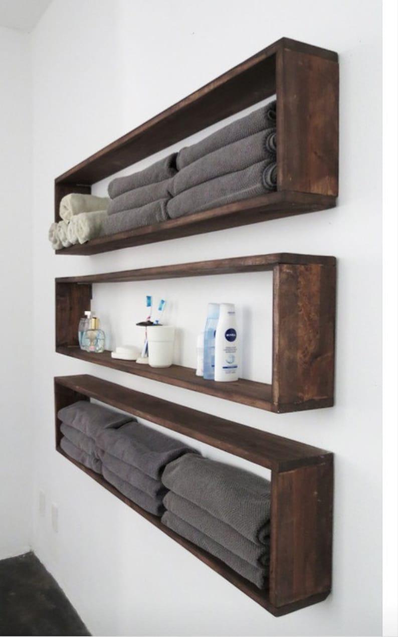 Set Of 2 Rectangle Shelves