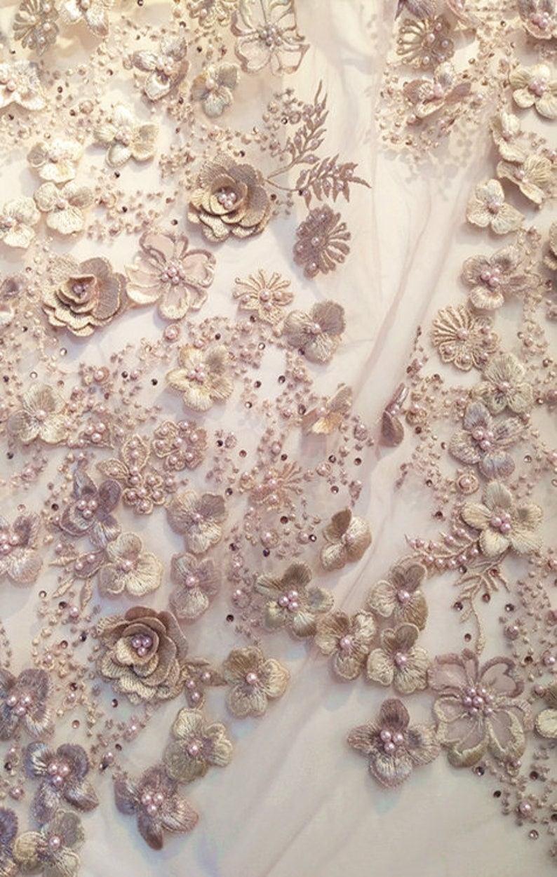 Pink Nudes and Purples Watercolor fabric