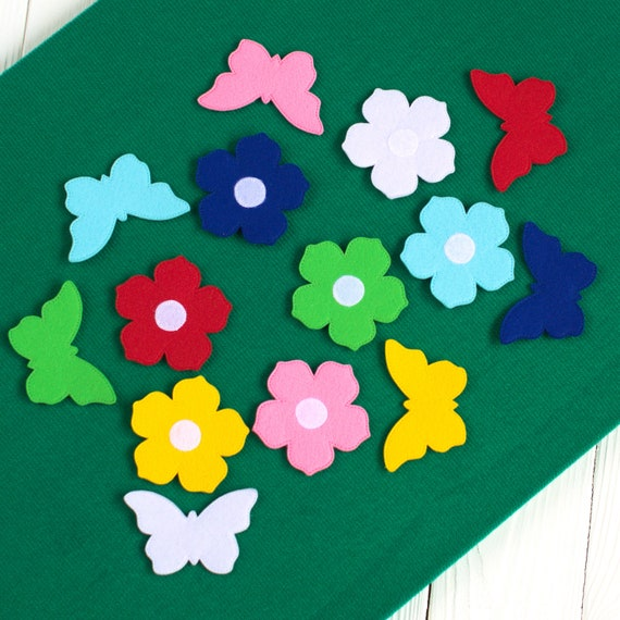 Felt matching color game Color sorting game Learning colours Learn colors  Educational toys baby Montessori toys colours Toddler activity