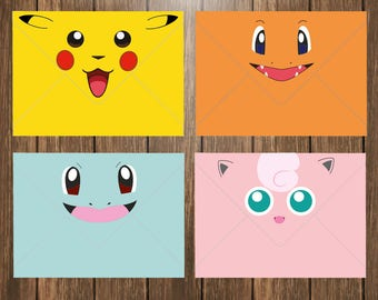 Pokemon Envelope Printable