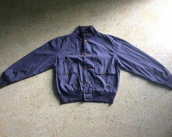 Vintage cp company stone island casual style jacket size 48 button down jacket