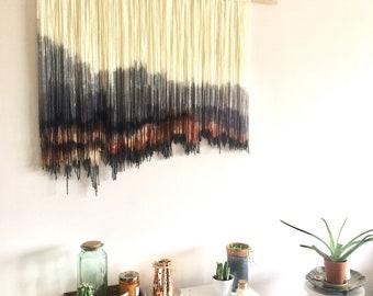 SALE Tapestry Wall Hanging Dip Dye