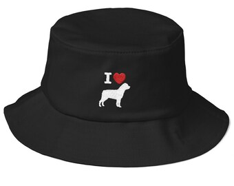 6b55a56d55d9a Rottweiler dog bucket hat