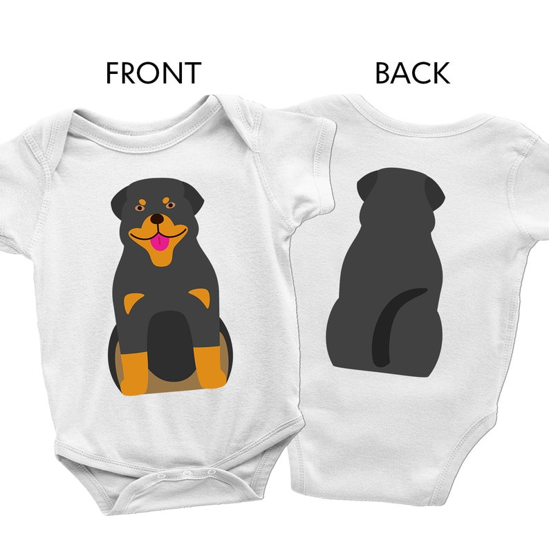 Rottweiler dog baby clothes