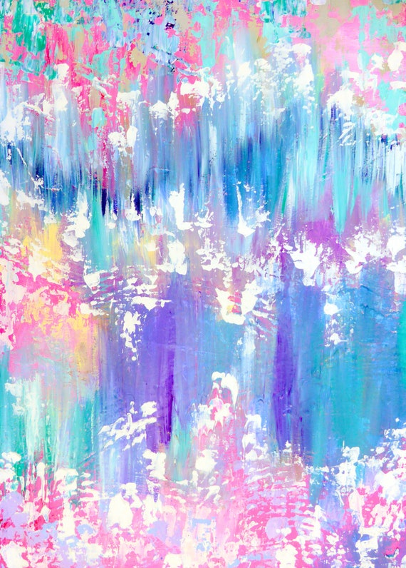 Pink Abstract Art Abstract Painting On A Canvas Pastel Coloured Art Pastel Coloured Painting Pastel Painting Pastel Colors Decor Pastel